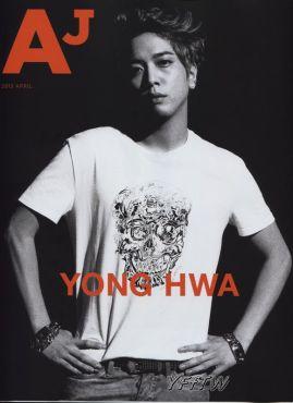 yonghwa on AJ mag
