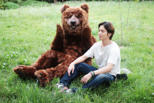 Yonghwa and his bear
