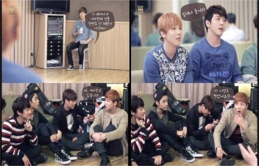 jonghyun doesn't give gifts and hongki has a gf