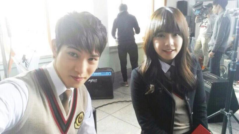juniel and jonghyun selca