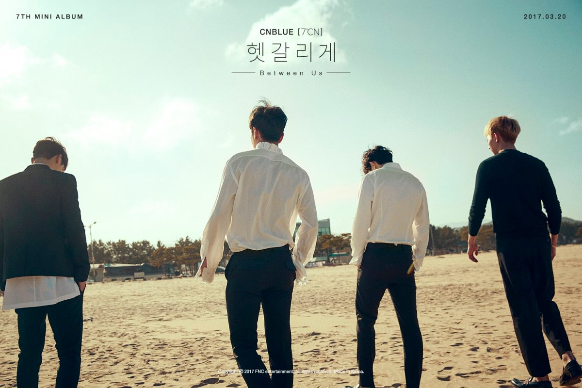"CNBLUE 7th Korean MINI ALBUM ""7°CN"""